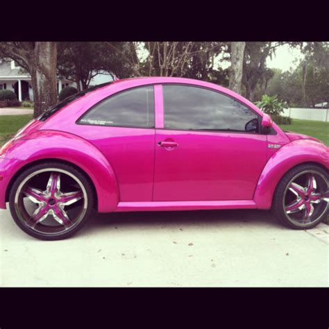 punch buggy car pink punch buggy convertable cars