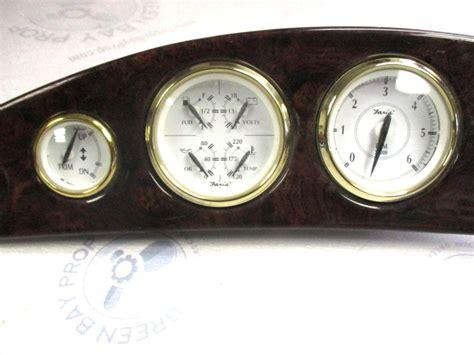 boat dash gauges voyager pontoon marine boat dash board gauge cluster 30 3