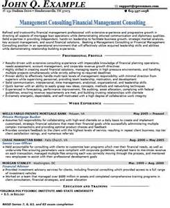 management consulting resume sle how to write a management consulting resume 28 images