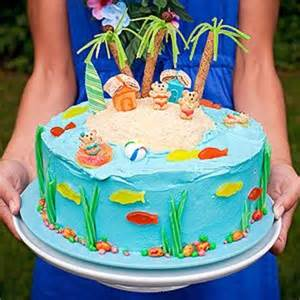 12 summer birthday cakes