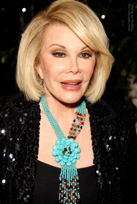 joan rivers haircut style profile picture of joan rivers bob haircut with a slight