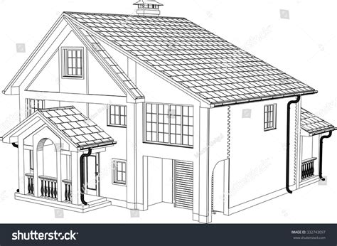house line drawing images stock photos vectors shutterstock house drawing vector contours house stock vector 332743097