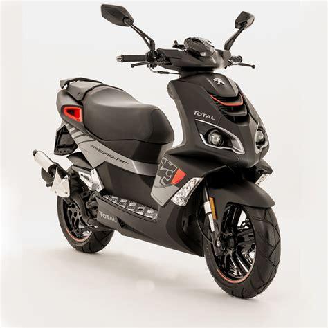 Peugeot Moped by 2016 Peugeot Speedfight 4 50cc Total Sport ıtımı