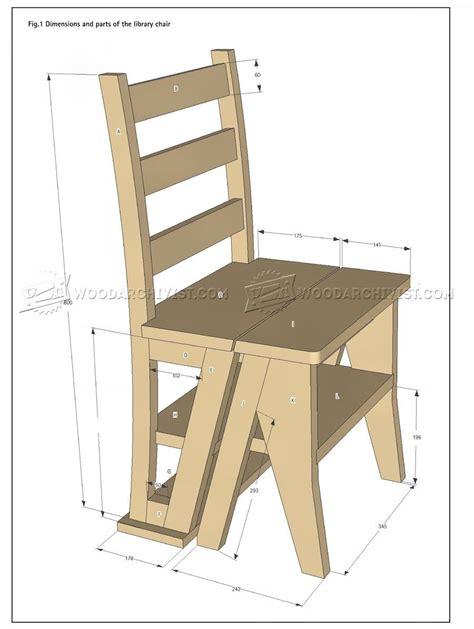 step stool woodarchivist