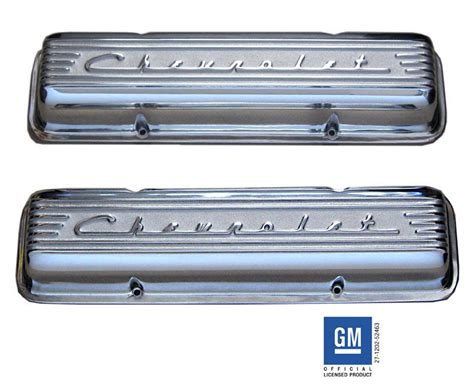 chevrolet small block valve covers chevy small block pre 86 valve covers pml 10430