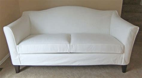 Ethan Allen Denim Sofa by Custom Made Brushed Dockside Denim Slipcover For New Ethan