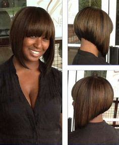 inverted bob wigs for african americans short tapered cut crochet braid i used one pack of