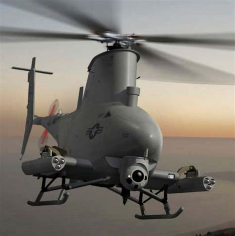 Drone Helicopter submarine matters scout drone helicopter to be armed with apkws quot mini missiles quot