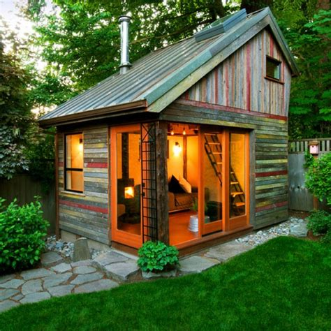 Backyard Cabin Ideas by 8 Sheds Turned Into Awesome Mancaves