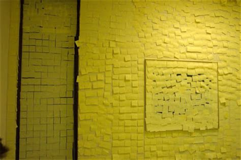 Pixelnotes Wallpaper Reinvents The Post It by Creativity With Post Its
