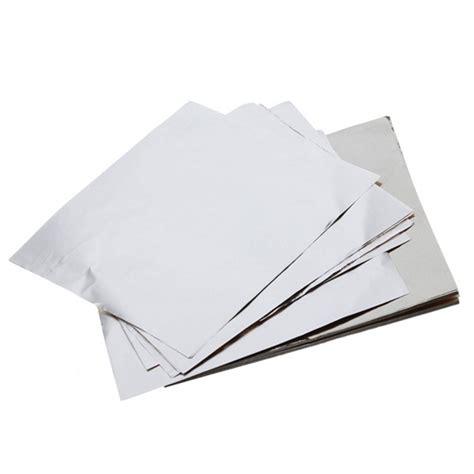 Alumunium Foil Silver Kue 200 square chocolate paper aluminum foil wrappers silver dt ebay