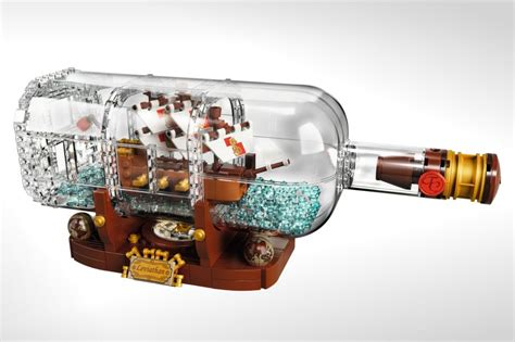 Kitchen Accessory Ideas lego s stunning ship in a bottle is about to wash ashore