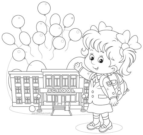sarah and duck pages coloring pages
