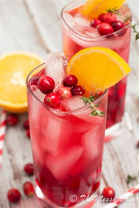 vodka tonic cranberry cranberry orange gin fizz with thyme recipe shapewear