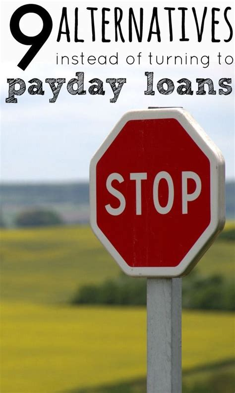 Alternative To Payday Loans by 9 Alternatives To Payday Loans Student Loans Student And Payday Loans
