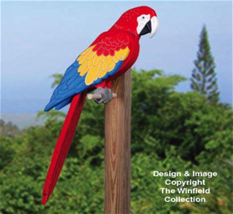 animal project patterns  life size mccaw woodcraft