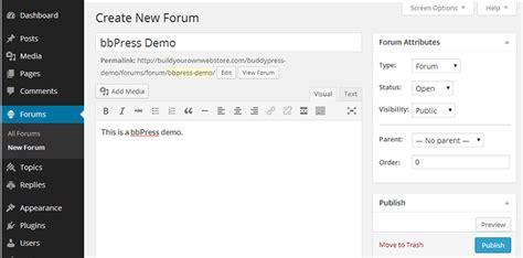 C 243 Mo Montarse Un Foro Con Bbpress En Wordpress Discussion Forum Templates Free