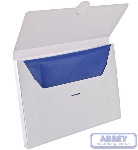A4 Folder a4 white document box folder polypropylene