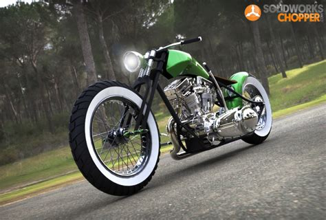 solidworks tutorial motorcycle solidworks chopper tutorial bobber motorcycles