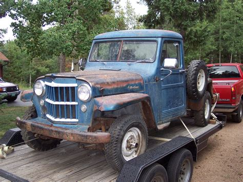 Jeep 55 S peterbou53 1955 willys specs photos modification