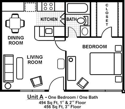 1 bedroom floor plan small one bedroom apartment floor plans search gardens apartment floor