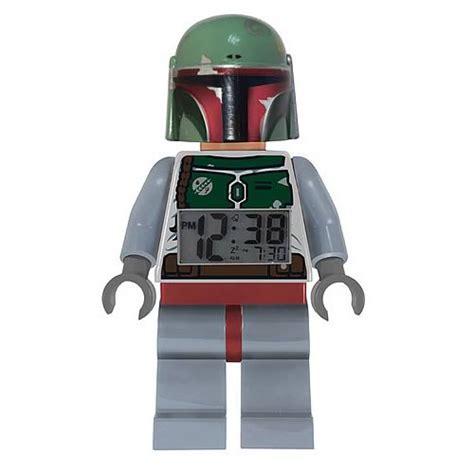 Lego Mini Figure Alarm Clock Boba Fett lego wars boba fett minifigure clock schylling wars clocks at entertainment earth