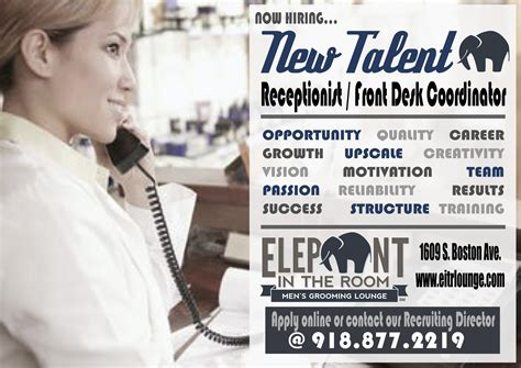 shops hiring front desk elephant in the room tulsa s haircuts provider