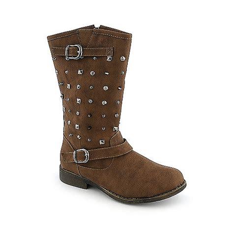 shiekh 04 womens mid calf low heel western boots