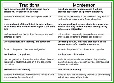 Montessori Lesson Plan Template templates for daily work capacity planning calendar