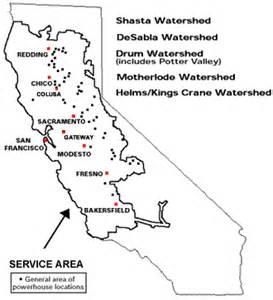 california gold towns map california map