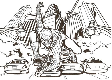 coloring pages spiderman games free coloring pages of carnage spiderman