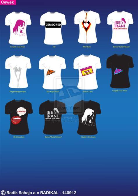 desain kaos tour katalog desain kaos cewek by cak rasa on deviantart