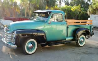 Antique Chevrolet Trucks Car Of The Week 1952 Chevrolet 3100 Cars Weekly