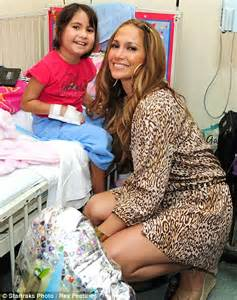 jennifer lopez s foundation helps women and kids variety jennifer lopez cheers up sick children with a surprise