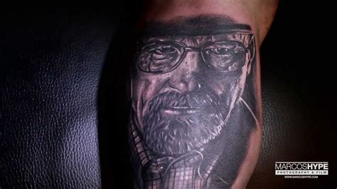 tattoo goo bad breaking bad tattoo heisenberg by franky lozano youtube