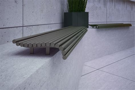 concrete benches with backs palla seating 02 438 street furniture design zano
