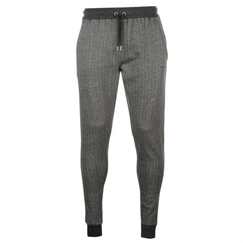 joggers pants pattern pierre cardin mens herringbone jogging bottoms pattern