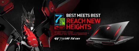 Msi Gt73evr 7re 1090 Titan Laptop Gaming I7 7700hq New 1 buy msi gt73evr 7rf titan pro i7 gtx 1080 gaming laptop at evetech co za