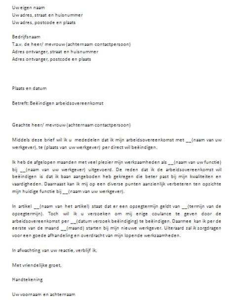 standaard layout zakelijke brief snel eenvoudig een brief voorbeeld downloaden in word
