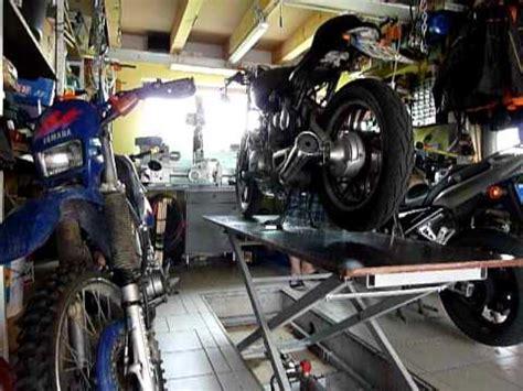 Motorrad Auspuff Entrosten by Diy Selbst Gebaute Motorrad Hebeb 252 Hne Vorstellung Dh