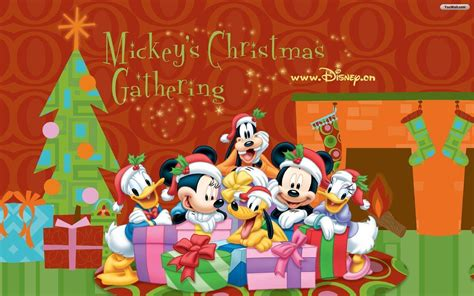 wallpaper de natal disney disney christmas wallpapers desktop wallpaper cave