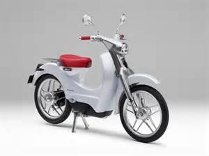 Honda Electric Bike Electric Honda Ev Cub Arrives In 2018 Autoevolution