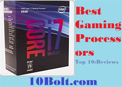 best processors best gaming processors 2019 reviews buyer s guide top 10
