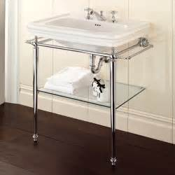 Best Pedestal Sinks Polished Chrome Legs For Console Bathroom Sink Useful