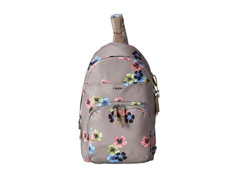 Sling Bag Unik Flower tumi voyageur brive sling backpack in gray lyst