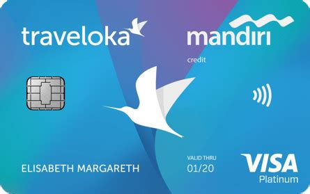 traveloka mandiri card   credit cards