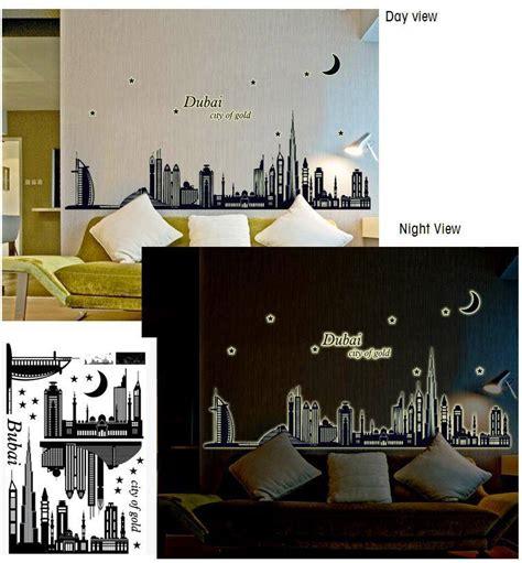 Stiker Dinding Glow In The Ap Dubai wall sticker glow in the jadikan dinding ruangan anda lebih cantik dengan motif menarik