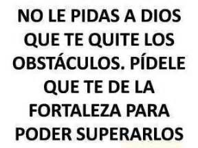 Frases fortaleza and dios on pinterest