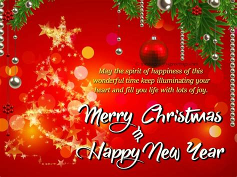 merry christmas  happy  year images greetingscom