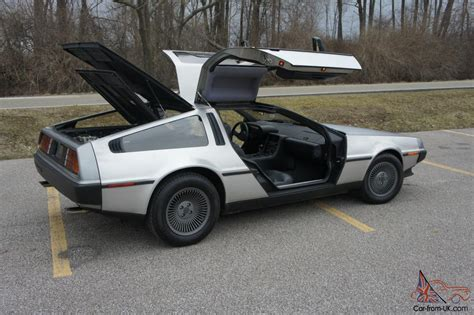 delorean interior 1981 delorean dmc 12 vin 905 auto black interior